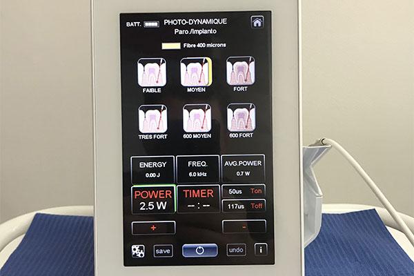 laser orthodontiste