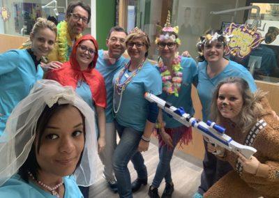 Carnaval au cabinet d'orthodontie de Miramas